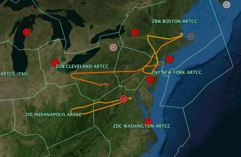 FAA ARTCC Areas