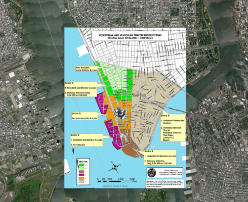 Example of WTC Restricted Area Map