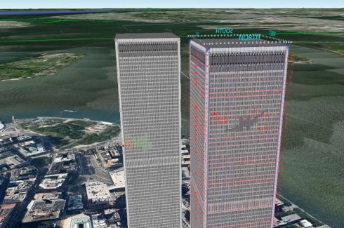 WTC 3D Buildings